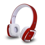 Moloke T6 Wireless Bluetooth Headset Stereo Sound Earphones, Support TF Card & Handfree Function (Red)