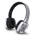 Moloke T6 Wireless Bluetooth Headset Stereo Sound Earphones, Support TF Card & Handfree Function (Silver)