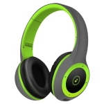 Moloke T8 Foldable Wireless Bluetooth Headset Stereo Sound Earphones, Support TF Card & Handfree Function (Green)