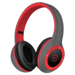 Moloke T8 Foldable Wireless Bluetooth Headset Stereo Sound Earphones, Support TF Card & Handfree Function (Red)