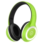 Moloke T8 Foldable Wireless Bluetooth Headset Stereo Sound Earphones, Support TF Card & Handfree Function (Fluorescent Green)