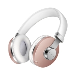 Moloke T9 Wired Wireless Bluetooth HiFi Stereo Sound Headset Earphones, Support Handsfree / SIRI / Voice Assistant Function (Pink)