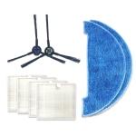 XI275 Pair I258 Side Brush + 4 PCS I206 Filter + 2 PCS I262 Cleaning Rag for ILIFE V8S