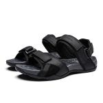 Comfortable Breathable and Wearable Casual Sandals for Men (Color:Black Size:39)