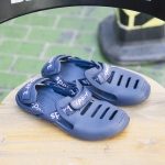 Fashion Trend Comfortable and Breathable Slippers for Men (Color:Blue Size:40)