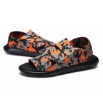 Mesh Breathable Lightweight Sandals Slippers for Men (Color:Camouflage Size:46)