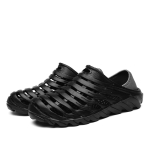 Stylish and Simple Casual Wading Hole Shoes Sandals for Men (Color:Black Size:39)