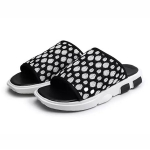Breathable Mesh Lightweight and Comfortable Casual Sandals for Men (Color:Black Size:44)