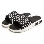 Breathable Mesh Fashion Trend Detachable Slippers for Men (Color:Black Size:42)