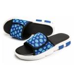 Breathable Mesh Fashion Trend Detachable Slippers for Men (Color:Blue Size:39)