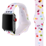 Silicone Printing Strap for Apple Watch Series 4 40mm & Series 3 & 2 & 1 38mm
