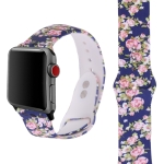 Silicone Printing Strap for Apple Watch Series 4 44mm & Series 3 & 2 & 1 42mm