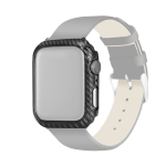 PC Carbon Fiber Frame Protection Case for Apple Watch Series 3 & 2 & 1 38mm