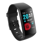 CY11 1.14 inches IPS Color Screen Smart Bracelet IP67 Waterproof, Support Step Counting / Call Reminder / Heart Rate Monitoring / Sleep Monitoring (Black)