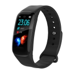 H29 1.14 inches IPS Color Screen Smart Bracelet IP67 Waterproof, Support Step Counting / Call Reminder / Heart Rate Monitoring / Sleep Monitoring (Black)