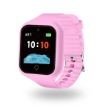 S668 1.3 inch IPS Screen GPS Tracker Smart Watch for Kids, IP67 Waterproof, Support GPS / Micro SIM Card / Anti-lost / SOS Call / Location Finder / Remote Monitor / Voice Monitoring (Pink)