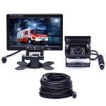 F0505 7 inch HD Car 18 IR LEDs Backup Camera Rearview Mirror Monitor, with 10m Cable