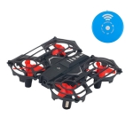 RH817A Infrared Remote Control Induction 4-Axis Quadcopter Smart Toy, Support  Altitude Hold & LED Light (Black)