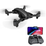 Deer Man DM-912 2.4GHz Wifi FPV Mini Quadcopter Foldable RC Drone with 1080P Camera & Remote Control,Support One Key Take-off / Landing, One Key Return, Pressure Set, GPS fixed point