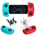 Deer Man AG-03W 2.4GHz Foldable Mini 4-Channel Quadcopter with 2MP WIFI Camera & Infrared Receiver/Transmitter & Remote Control , Support  Headless Mode