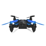 Deer Man 901HS 2.4GHz Mini Foldable 4-Channel Quadcopter with WIFI Camera Real-time Transmission & Remote Control, Support  Headless Mode & Air Pressure Constant(Blue)