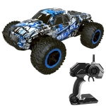 Deer Man LR-R004 2.4G R/C System 1:16 Wireless Remote Control Drift Off-road Four-wheel Drive Toy Car (Blue)