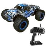 Deer Man LR-R004 2.4G R/C System 1:16 Wireless Remote Control Drift Off-road Four-wheel Drive Toy Car (Blue)
