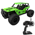 Deer Man LR-R007 2.4G R/C System 1:16 Wireless Remote Control Drift Off-road Four-wheel Drive Toy Car (Green)