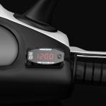 Motorcycle Multi-functional 2 in 1 Digital Display Voltmeter + Electronic Clock, 6-30V IP67