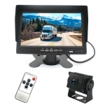 PZ612-AHD IP67 120 Degree Car AHD 1080P 2 Megapixels 7 inch 1-Way Rearview Mirror Monitor, Night Vision Full Color