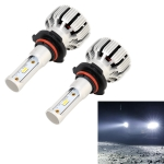 2 PCS X6 9006 / HB4 DC9-18V / 25W / 6000K / 2500LM Car LED High Brightness Headlight Lamps, CSP Lamp Beads (White Light)