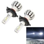 2 PCS X6 H4 DC9-18V / 25W / 6000K / 2500LM Car LED High Brightness Headlight Lamps, CSP Lamp Beads (White Light)