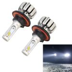 2 PCS X6 H13 DC9-18V / 25W / 6000K / 2500LM Car LED High Brightness Headlight Lamps, CSP Lamp Beads (White Light)