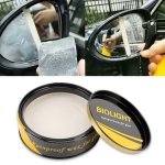 Car Rearview Mirror Waterproof Rainproof Cream
