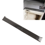 Car Passenger Seat Dashboard Strip Carbon Fiber Decorative Sticker for Mercedes-Benz W204