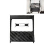 2 PCS Car Rear Air Outlet Frame Carbon Fiber Decorative Sticker for Mercedes-Benz W204