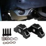 Car Engine Motor Torque Mount Kit for Honda 1992-2000 Honda Civic D15 / D16 / B16 / B18 / B20 (Black)
