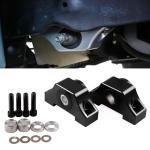 Car Engine Motor Torque Mount Kit for Honda 1992-2000 Honda Civic D15 / D16 / B16 / B18 / B20 (Black)