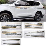 5 PCS SUV Body Decorative Strip Brand Car Streamline Shining Sticker for Nissan TERRA 2019
