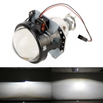 IPHCAR H1 3.0 inch Car Double Light Bi-Xenon Projector Lens Headlight without Light Bulb for Right Driving