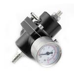 0-140PSI Universal Car Fuel Pressure Regulator with Gauge Adjustable Oil Pressure Regulator