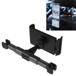 360 Degree Rotating Snap-on Rear Seat Car Phone Holder for 4-11 inch Mobile Phones / Tablets (Black)
