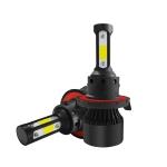 2 PCS S2 H13 / 9008 DC9-36V / 25W / 6000K / 2500LM IP68 Car LED Headlight Lamps (Cool White)