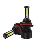 2 PCS S2 9007 / HB5 DC9-36V / 25W / 6000K / 2500LM IP68 Car LED Headlight Lamps (Cool White)
