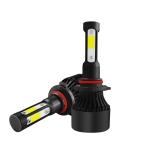 2 PCS S2 9006 / HB4 DC9-36V / 25W / 6000K / 2500LM IP68 Car LED Headlight Lamps (Cool White)