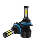 2 PCS S2 9004 / HB1 DC9-36V / 25W / 6000K / 2500LM IP68 Car LED Headlight Lamps (Cool White)