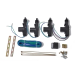 Car 4 Universal Power Door Lock Actuator Kit 2 Wires & 5 Wires Auto Locking System Motor, DC 12V