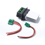 Car Heater Blower Fan Resistor + Connector / Wire 6441.L2 7701207718 for Citroen / Peugeot / Renault