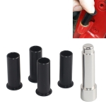4 PCS Car Removal Tool Door Hinge Bushing Parts Metal + Plastic Universal Replacement for Jeep Wrangler JKU 2007-2018