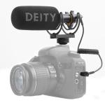 Deity V-Mic D3 Directional Condenser Shotgun Microphone, Support 360 Degree Pan / 180 Degree Tilt (Black)